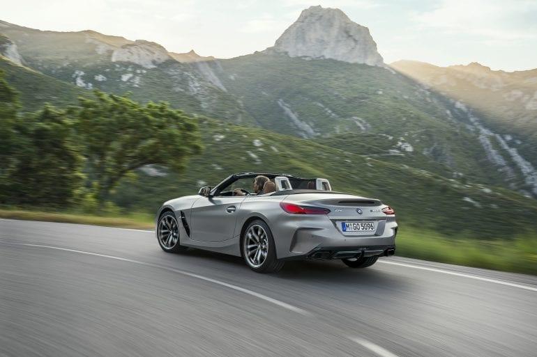 P90318603 highRes the new bmw z4 roads 770x513 - Noul roadster, colecția de primăvară-vară 2019 – BMW Z4