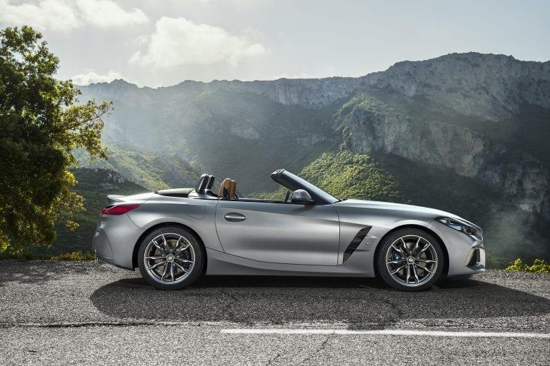 P90318609 highRes the new bmw z4 roads 770x513 - Noul roadster, colecția de primăvară-vară 2019 – BMW Z4