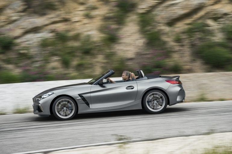P90318611 highRes the new bmw z4 roads 770x513 - Noul roadster, colecția de primăvară-vară 2019 – BMW Z4