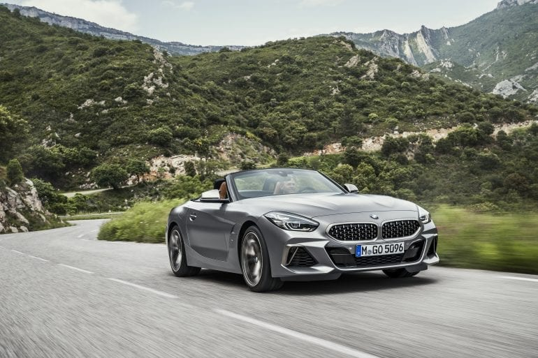 P90318614 highRes the new bmw z4 roads 770x513 - Noul roadster, colecția de primăvară-vară 2019 – BMW Z4