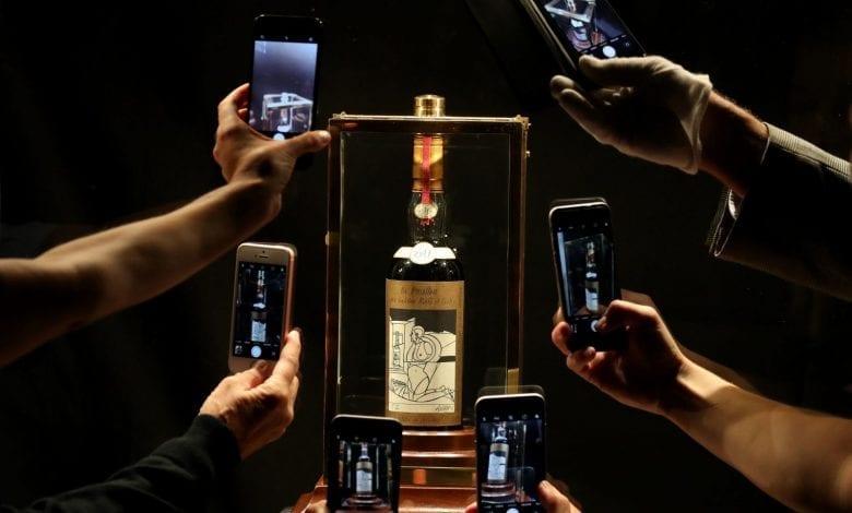 Cea mai scumpă sticlă de whisky din lume: Macallan Valerio Adami 1926