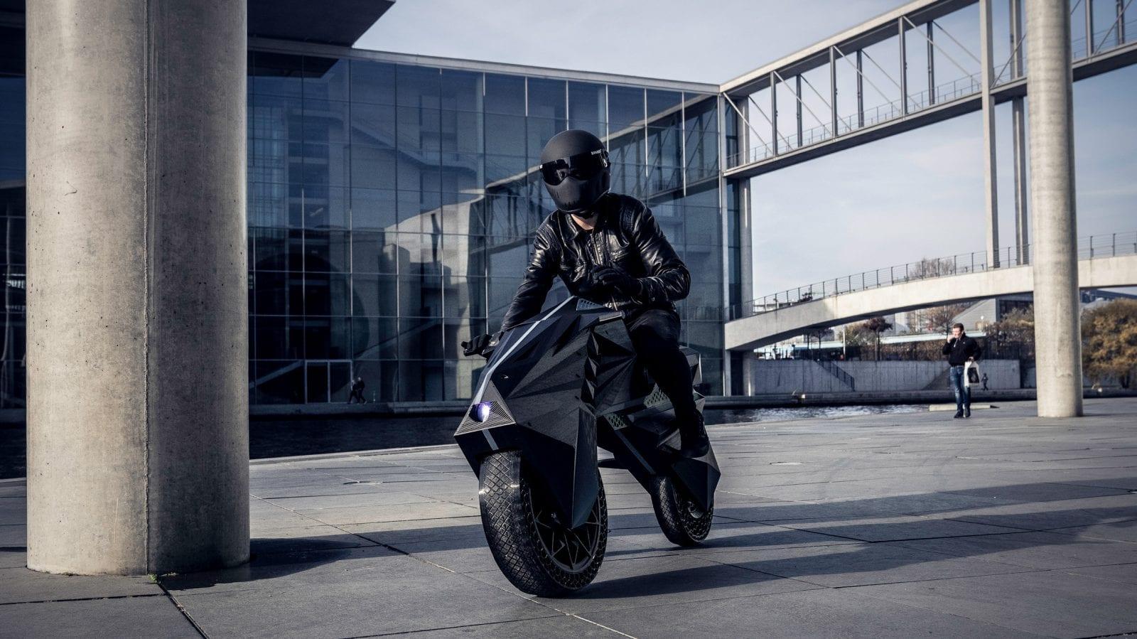 nera 3d printed motorbike design dezeen 2364 hero 1 - Premieră mondială: Nera, motocicleta electrică cu piese scoase la imprimanta 3D