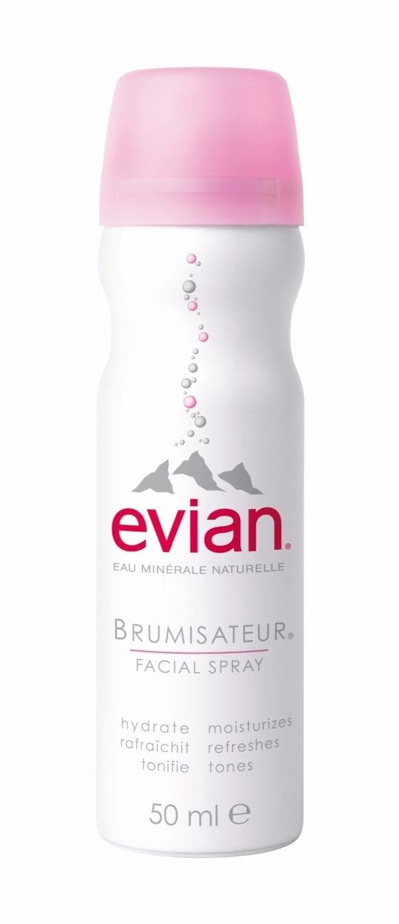 evian Brumisateur, unicul spray facial cu apă minerală naturală din Alpi