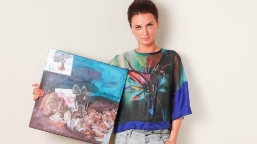 Interviu cu pictorița Ingrid Juncanariu