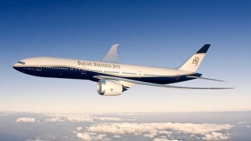 Business jet-urile Boeing BBJ 777X vor conecta toate punctele din lume