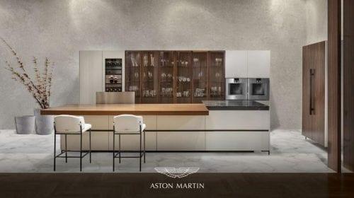 Aston Martin a lansat prima bucătărie luxoasă în parteneriat cu Formitalia