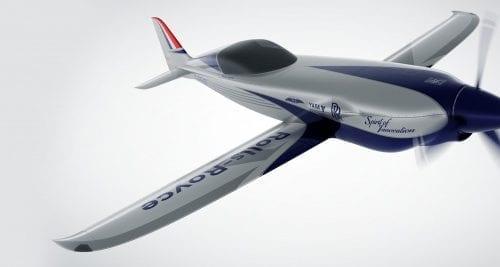 Rolls-Royce construiește cel mai rapid avion electric din istorie