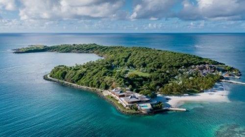 Insula privată Calivigny, o experiență luxoasă de la 132.000 de dolari pe noapte