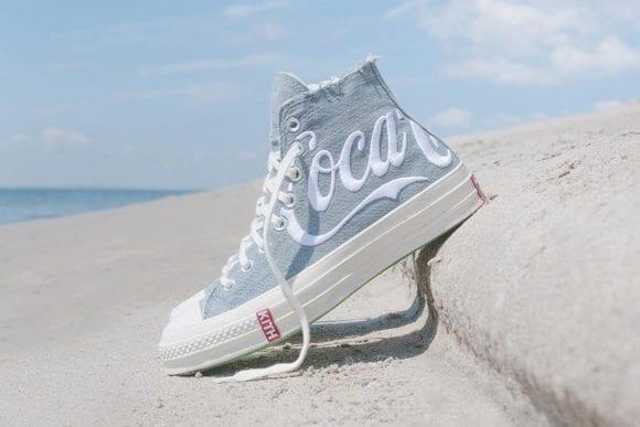 KITH, Coca-Cola și Converse Chuck lanseaza sneakers pentru pasionații de piese statement