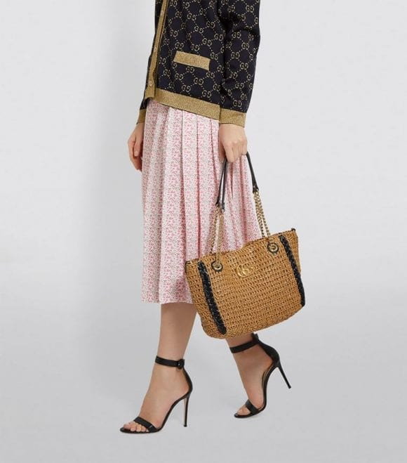 Accesoriul toamnei: Gucci Large Marmont Tote Bag