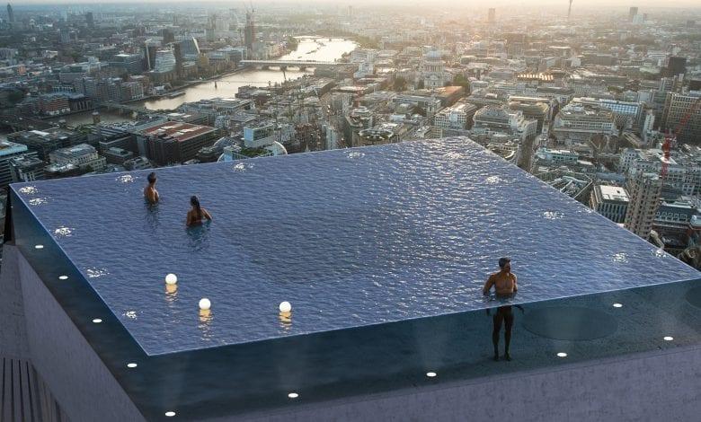 Prima piscină infinity cu priveliște de 360° din lume va fi construită în Londra