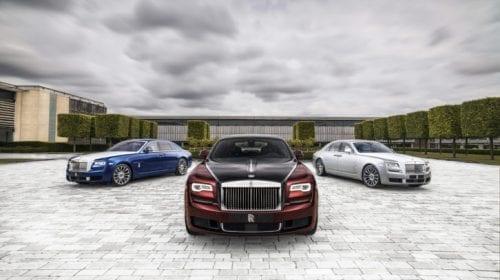 Rolls-Royce Ghost Zenith, ediție limitată pentru colecționari