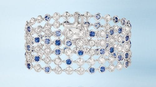 Van Cleef&Arpels lansează colecția Brume de Saphir