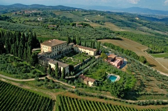 Vila Poggio Torselli, deținută de familia Machiavelli, scoasă la vânzare pentru 60 de milioane de dolari
