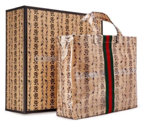 Gucci și Comme des Garçons fac din nou echipă pentru o geantă Limited-Edition