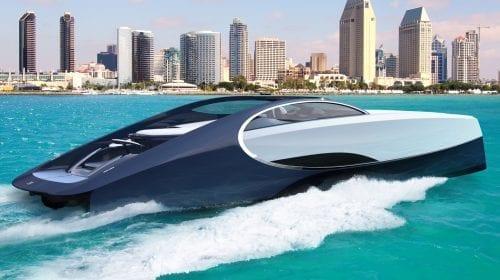 Bugatti scoate Chiron-ul la apă