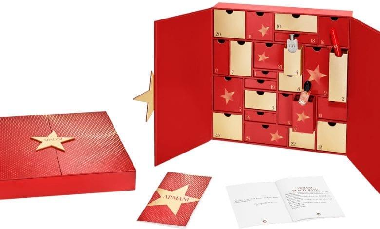 Armani lansează primul Beauty Advent Calendar din istoria brandului
