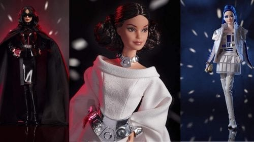 Păpușile Barbie Star Wars vor fi lansate pentru 100 de dolari fiecare