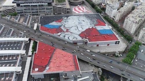 Paris – cea mai mare pictură street art din lume by Ella & Pitr