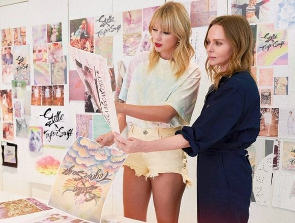 Stella McCartney și Taylor Swift colaborează pentru o colecție unică