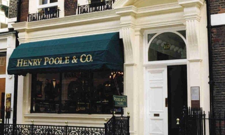 Henry Poole – Inventatorii costumului Tuxedo