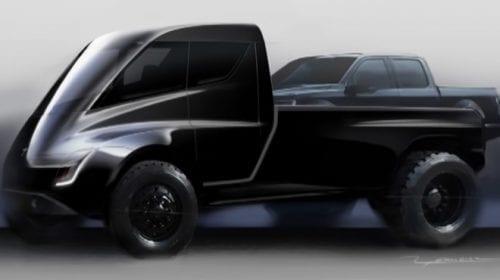 """Tesla ar putea lansa o camionetă cu """"mult titan"""" la finalul anului"""