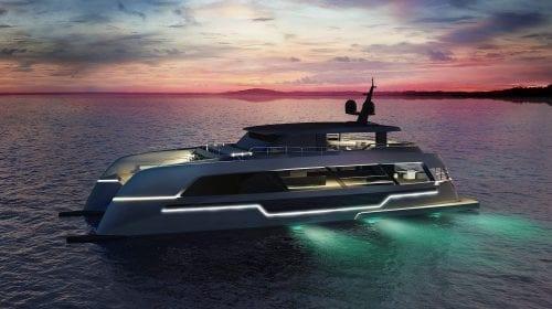 Catamaran cu veleități de iaht: 120 Sunreef Power