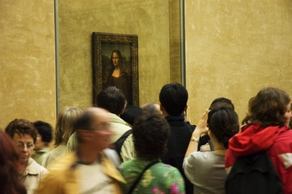 Mona Lisa s-a întors în Salle des Etats