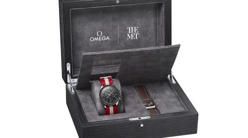 """Omega – Speedmaster """"First Omega in Space"""" Met Edition"""