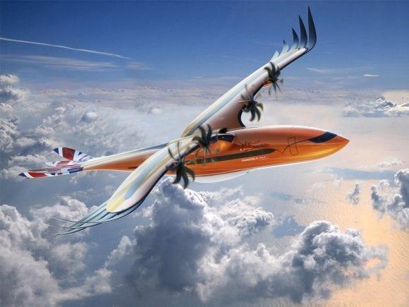 """""""Bird of Prey"""", conceptul futurist marca Airbus pentru industria aeronautică"""