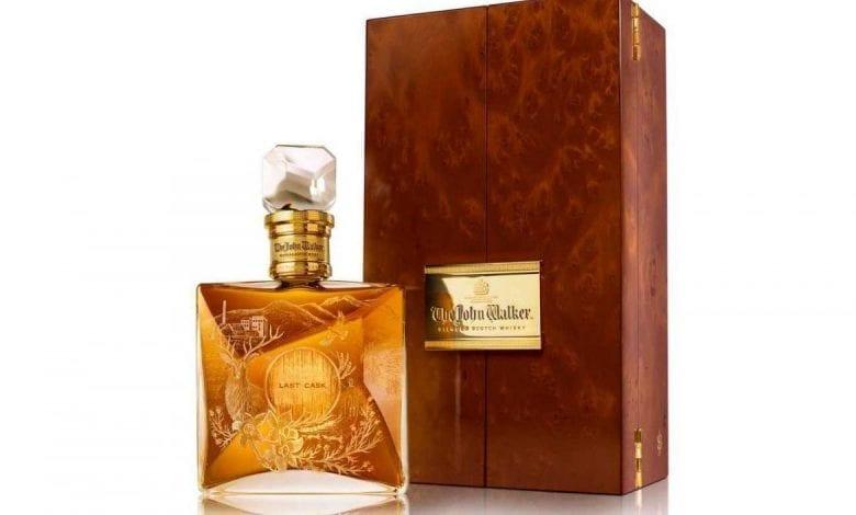 The John Walker, colecție exclusivistă de 330 de sticle de Scotch whisky