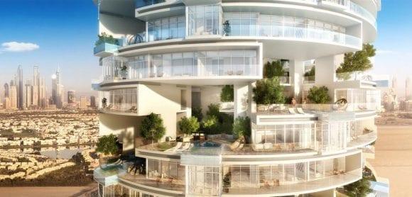 Turn spectaculos cu 271 de piscine, într-un nou concept hotelier la Dubai