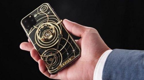iPhone Universe Diamond, varianta luxoasă cu pietre prețioase și fragmente de meteorit