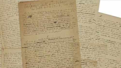 Manifestul lui Pierre de Coubertin care a relansat Jocurile Olimpice s-a vândut pe suma record de 8,8 milioane de dolari