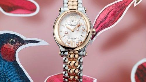 Happy Sport Oval Chopard reinventează brățara ceasului său iconic