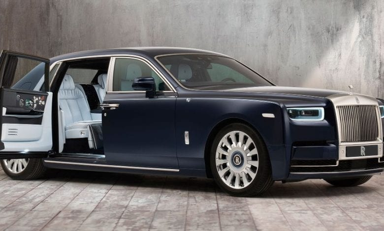 Rolls Royce Rose Phantom – broderie manuală custom-made