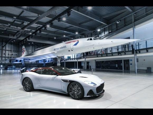 British Airways marchează 50 de ani de la primul zbor Concorde cu un…Aston Martin