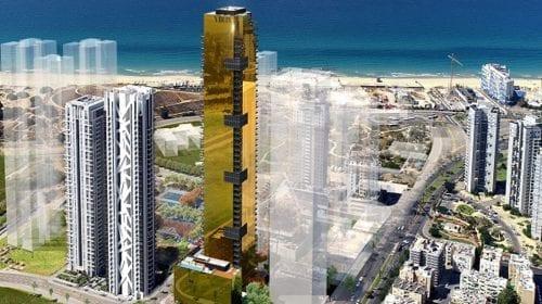 Sistemele ALUMIL alese pentru turnul spectaculos Lighthouse Tower din Tel Aviv