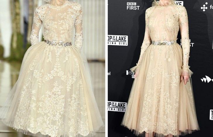 6 rochii de designer: arată mai bine pe modele sau pe silueta actrițelor?