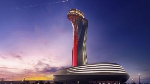 Aeroportul de 12 miliarde de dolari din Istanbul, o mega-structură cu design spectaculos