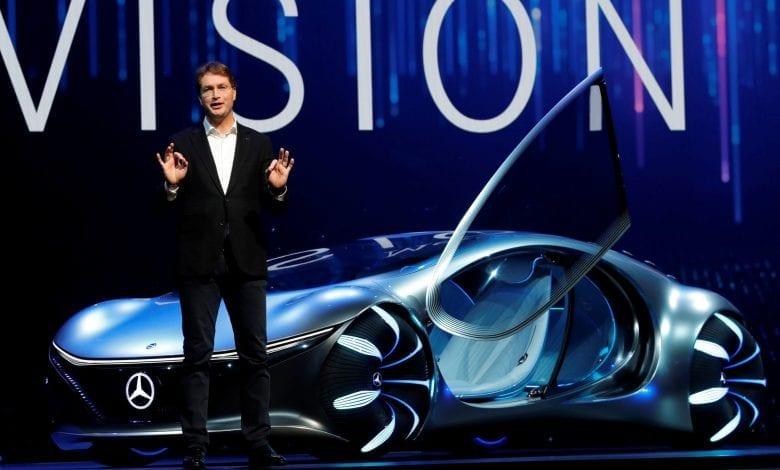 """Mercedes-Benz a dezvăluit o mașină bizară inspirată de """"Avatar"""" la CES"""