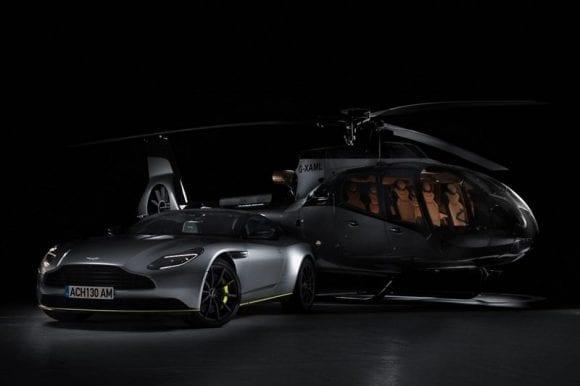 Airbus și Aston Martin au lansat un elicopter exclusivist în Alpii Francezi