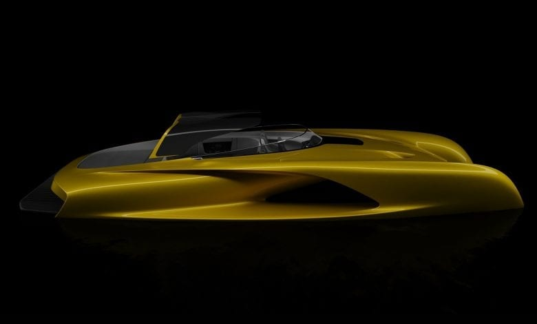 """Designerul celei mai scumpe mașini din lume a creat un """"Bugatti"""" al ambarcațiunilor"""