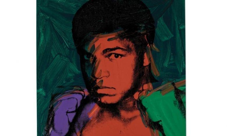 Un portret Warhol al lui Muhammad Ali, scos la licitație