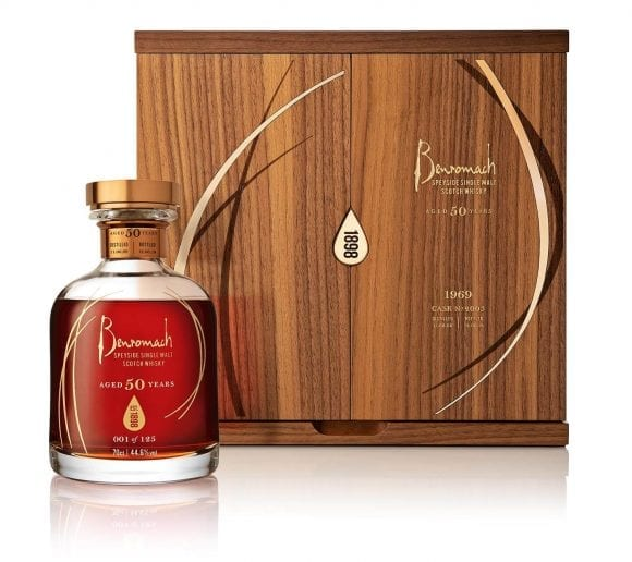 Distileria Benromach dezvăluie un whisky single malt de 50 de ani