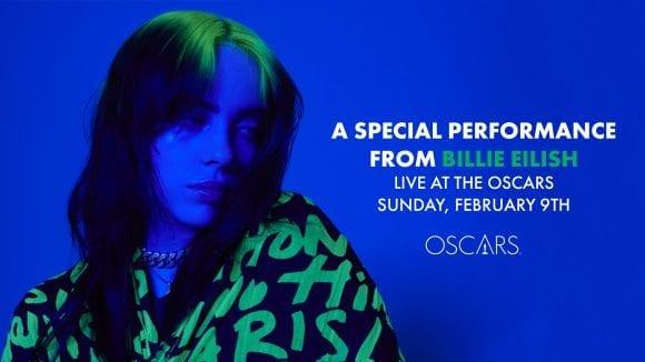 Billie Eilish cântă la Premiile Oscar 2020