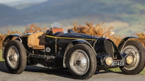 Un Bugatti Type 59 s-ar putea vinde cu 10 milioane de lire sterline