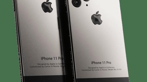 Un iPhone 11 tribut pentru Steve Jobs, lansat la un preț de peste 6.000 de dolari