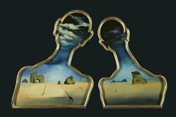 Dipticul lui Salvador Dali și al soției sale ar putea fi vândut cu 13 milioane de dolari