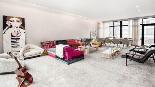 Cum arată penthouse-ul unui mogul din fashion